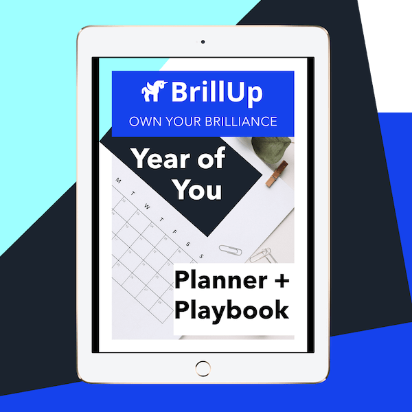 Year of You Planner and Playbook PDF displayed in an IPad