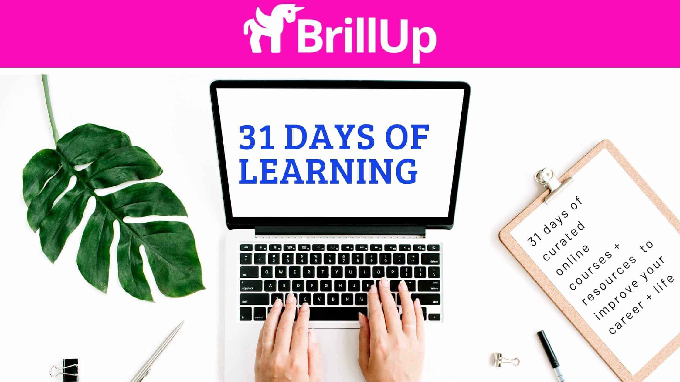 31 Days of Learning