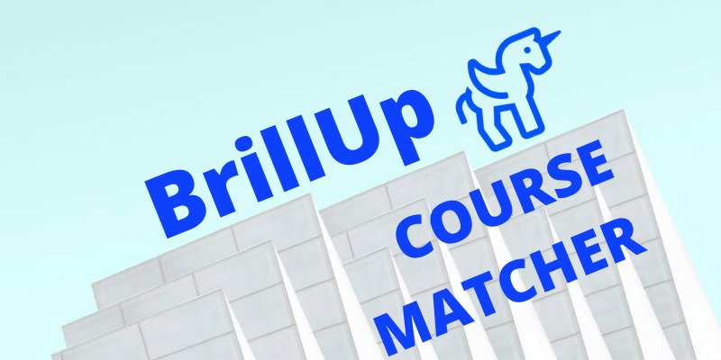 BrillUp Course Matcher