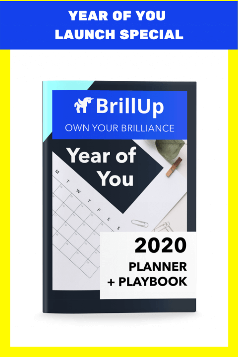 Launch Special with image of Year of You planner and playbook cover