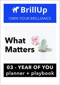 What Matters workbook cover