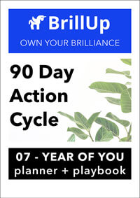 90 Day Action Cycle workbook cover