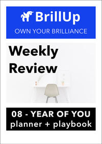 Weekly Review workbook cover
