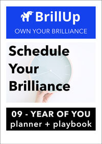Schedule Your Brilliance workbook cover
